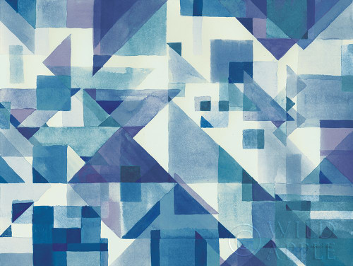Try Angles I Blue Poster Print by Danhui Nai - Item # VARPDX49978