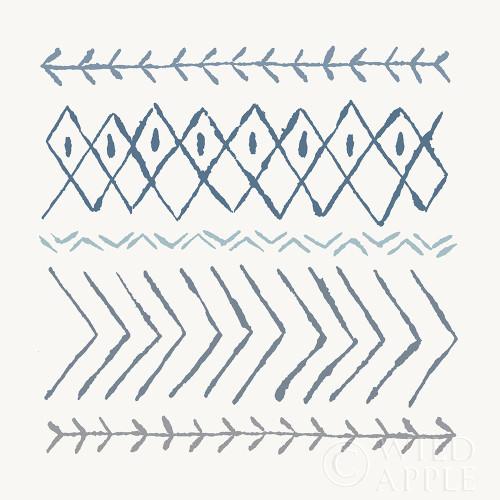 Nordic Vibes II Blue Poster Print by Moira Hershey - Item # VARPDX50076