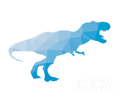 Geo Dinosaur I Poster Print by Wild Apple Portfolio Wild Apple Portfolio - Item # VARPDX50428