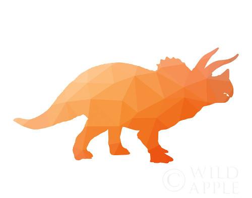Geo Dinosaur III Poster Print by Wild Apple Portfolio Wild Apple Portfolio - Item # VARPDX50430