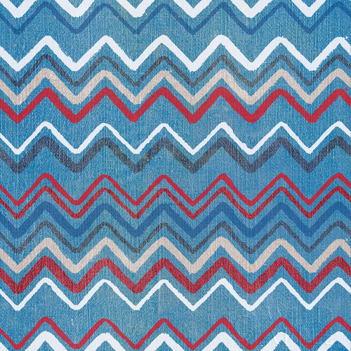 Stars and Stripes Dark Pattern II Poster Print by Beth Grove - Item # VARPDX50789