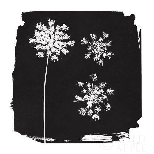 Nature by the Lake Flowers III Black Poster Print by Piper Rhue - Item # VARPDX51201