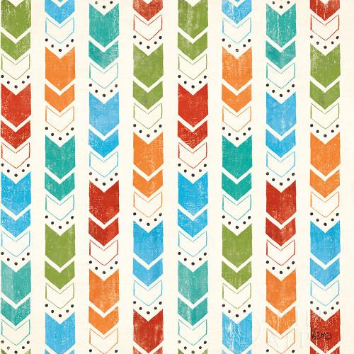 Good Vibes Pattern VIIIA Poster Print by Veronique Charron - Item # VARPDX52171