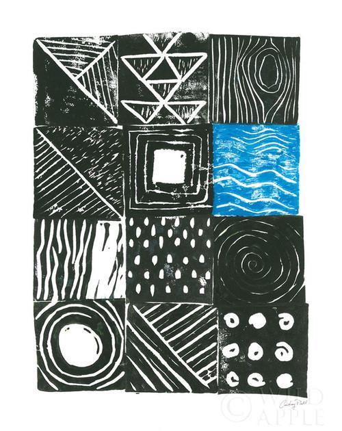 Block Print II Poster Print by Courtney Prahl - Item # VARPDX52272