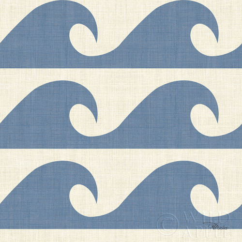 Coastal Farmhouse Pattern IIIB Poster Print by Pela Studio Pela Studio - Item # VARPDX52335