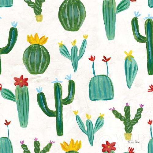 Homage to Frida Pattern IIA Poster Print by Farida Zaman - Item # VARPDX52586