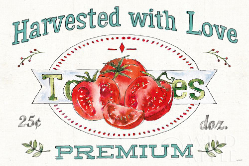 Veggie Market I Poster Print by Anne Tavoletti - Item # VARPDX52614