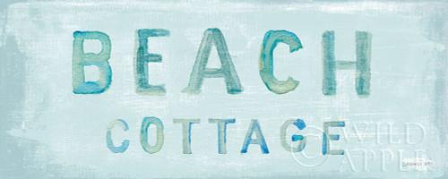 Beach Cottage Sign Poster Print by Danhui Nai - Item # VARPDX52637