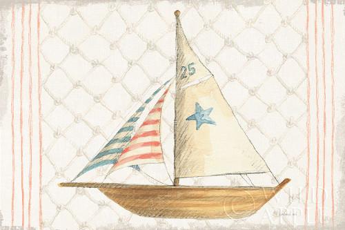 Floursack Nautical XII Poster Print by Danhui Nai - Item # VARPDX52822