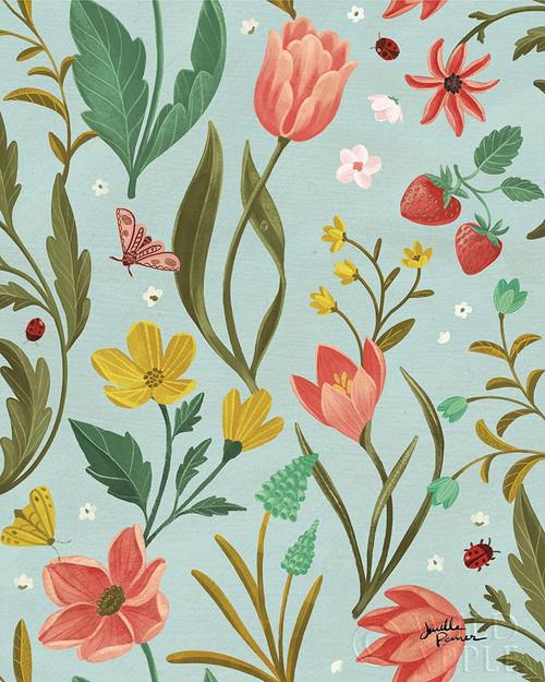 Spring Botanical Pattern IC Poster Print by Janelle Penner - Item # VARPDX53492