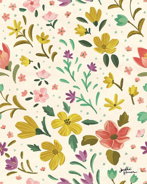 Spring Botanical Pattern IIB Poster Print by Janelle Penner - Item # VARPDX53494