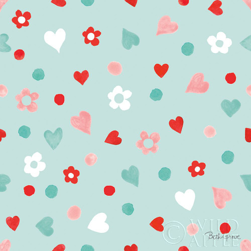 Paws of Love Pattern IID Poster Print by Beth Grove - Item # VARPDX53520