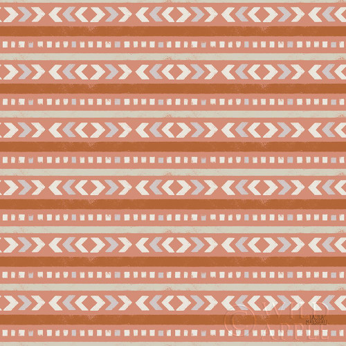 Gone Glamping Pattern IVD Poster Print by Laura Marshall - Item # VARPDX53624