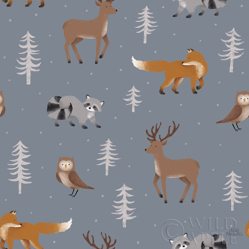 Gone Glamping Pattern VIC Poster Print by Laura Marshall - Item # VARPDX53631