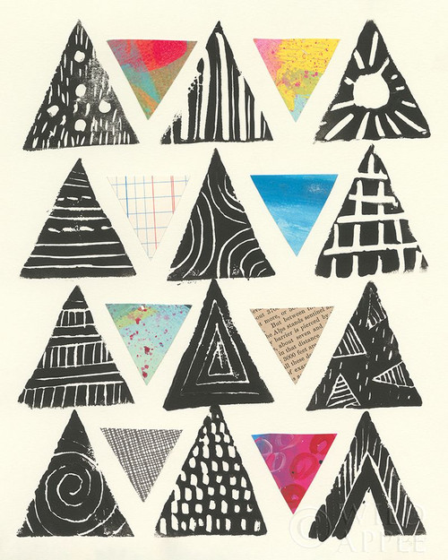 Triangles Poster Print by Courtney Prahl - Item # VARPDX53703