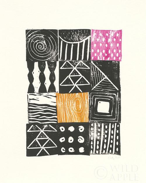 Block Print V Poster Print by Courtney Prahl - Item # VARPDX53704