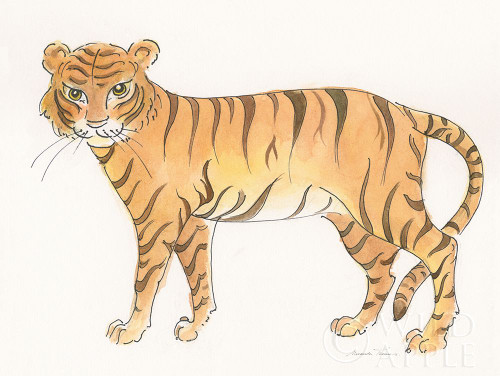 Big Cats III Poster Print by Miranda Thomas - Item # VARPDX53739