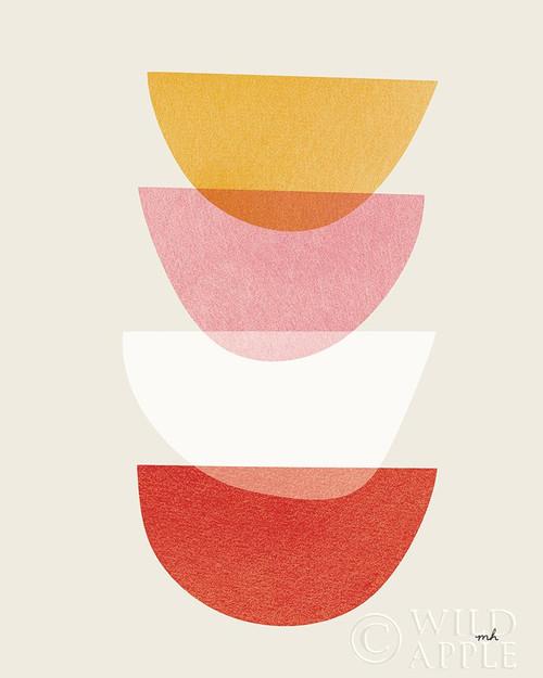Balance III Warm Poster Print by Moira Hershey - Item # VARPDX53749