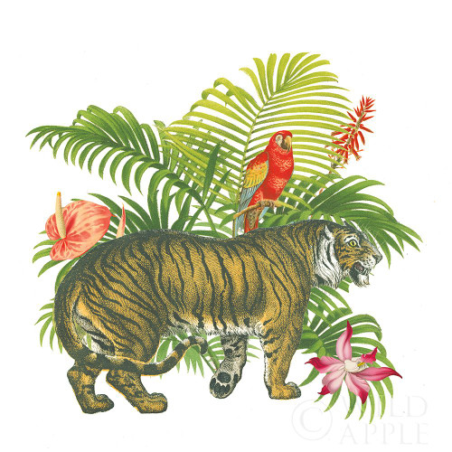 In the Jungle I Poster Print by Wild Apple Portfolio Wild Apple Portfolio - Item # VARPDX53963