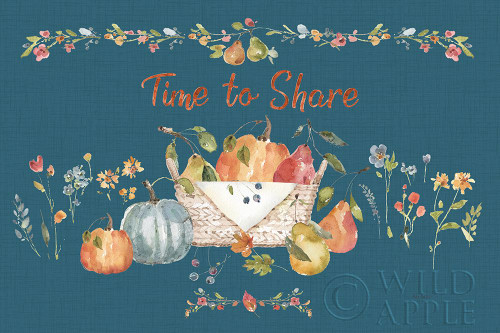 Time to Share I Blue Poster Print by Lisa Audit - Item # VARPDX53997