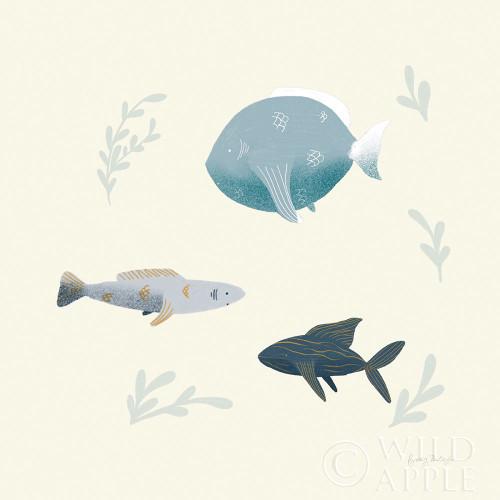 Ocean Life Fish Poster Print by Becky Thorns - Item # VARPDX54182