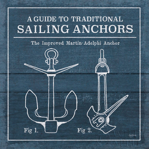 Vintage Sailing Knots XII Poster Print by Mary Urban - Item # VARPDX54517