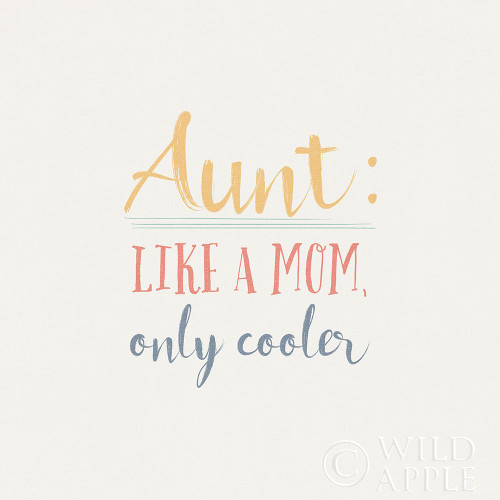Aunt Inspiration I Color Poster Print by Wild Apple Portfolio Wild Apple Portfolio - Item # VARPDX54606