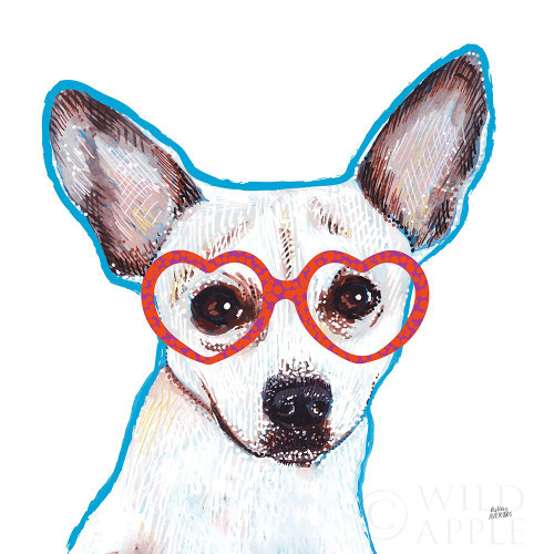Bespectacled Pet I Poster Print by Melissa Averinos - Item # VARPDX54787