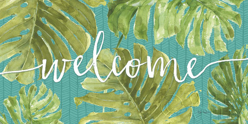 Mixed Greens Welcome Poster Print by Lisa Audit - Item # VARPDX54810