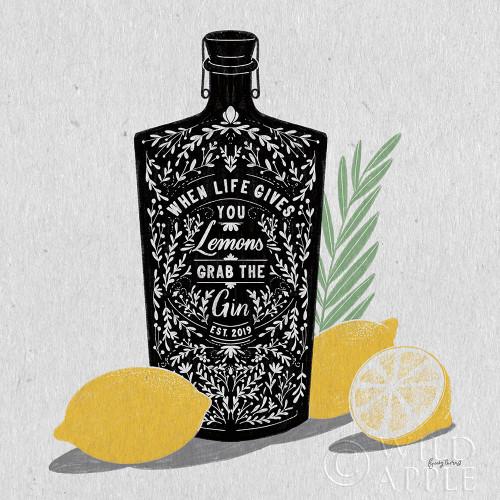 Fruity Spirits Gin Poster Print by Becky Thorns - Item # VARPDX54988