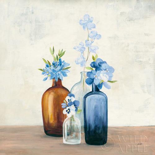 Windowsill Garden II Blue Poster Print by Julia Purinton - Item # VARPDX54993