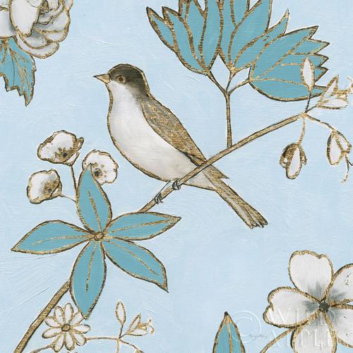 Toile Birds IV Poster Print by Emily Adams - Item # VARPDX55102