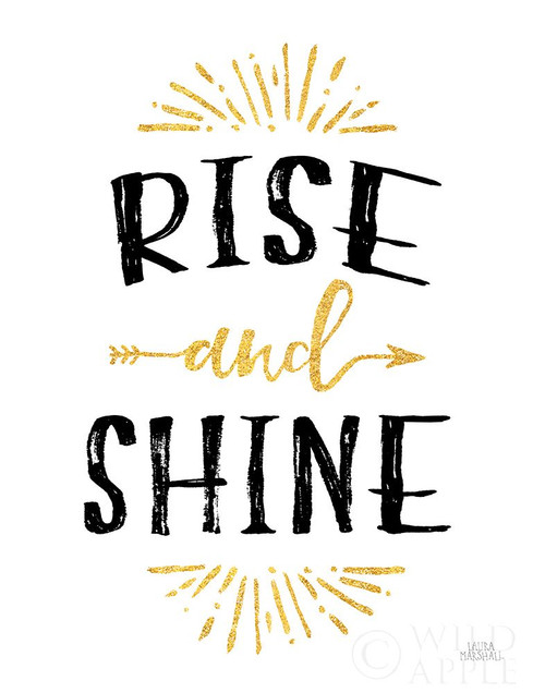 Morning Motivation II Poster Print by Laura Marshall - Item # VARPDX55540