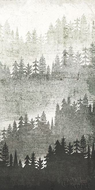 Mountainscape Silver Panel III Poster Print by Michael Mullan - Item # VARPDX56327