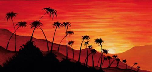 Palm Tress III Poster Print by Henrik Kwasik - Item # VARPDX7BUR453