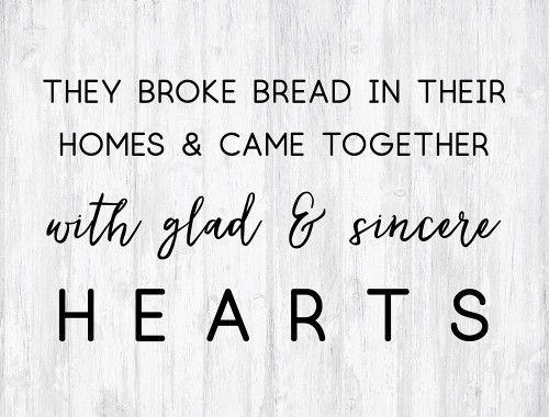 Glad and Sincere Hearts Poster Print by Bella Dos Santos - Item # VARPDX907DOS2171