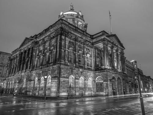 Town Hall Building at night, Liverpool, FTBR-1868 Poster Print by Assaf Frank - Item # VARPDXAF20120930232C01