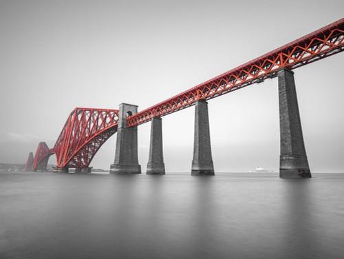 Forth Rail Bridge, Scotland Poster Print by Assaf Frank - Item # VARPDXAF20171016062C02