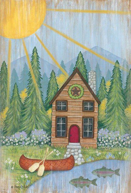 Cabin in the Woods Poster Print by Annie LapPoint - Item # VARPDXALP1852