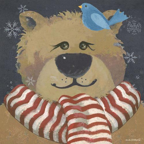 Christmas Bear Poster Print by Anita Phillips - Item # VARPDXAP2175