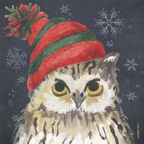 Christmas Owl Poster Print by Anita Phillips - Item # VARPDXAP2177