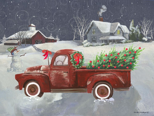 Old Truck and House II Poster Print by Anita Phillips - Item # VARPDXAP2211