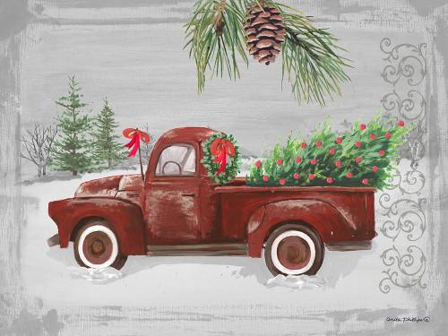 Red Truck Poster Print by Anita Phillips - Item # VARPDXAP2213