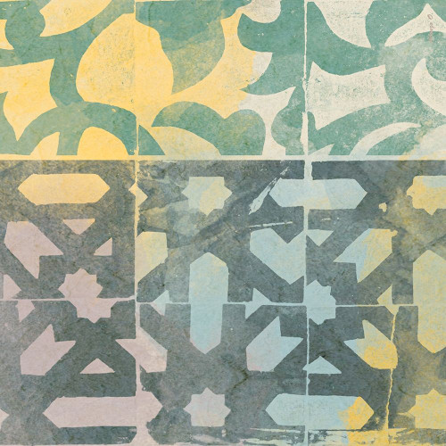 Decorative Life Squared 1 Poster Print by Alonzo Saunders - Item # VARPDXASSQ114A