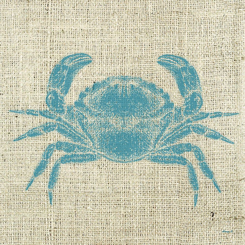 Crab Linen Poster Print by Alonzo Saunders - Item # VARPDXASSQ124A
