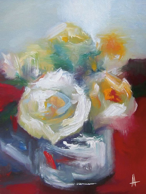 Wild Roses II Poster Print by Anne Thouthip - Item # VARPDXAT116