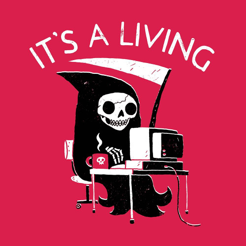 It‹¥_s a Living Poster Print by Michael Buxton - Item # VARPDXB3712D