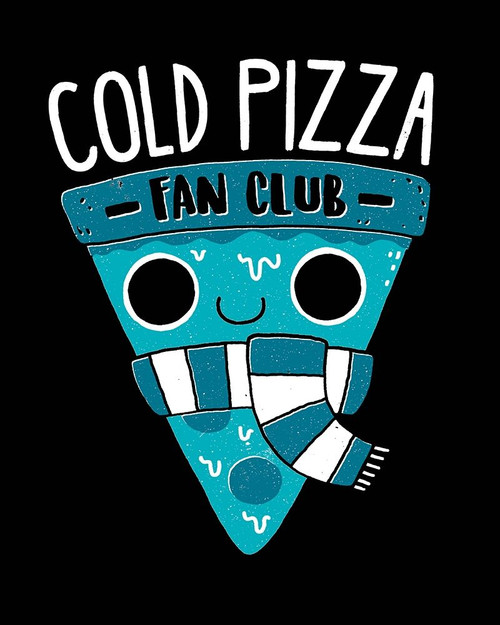 Cold Pizza Fan Club Poster Print by Michael Buxton - Item # VARPDXB3769D