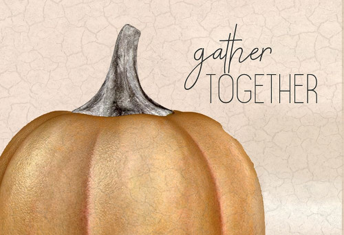 Gather Together Pumpkin Poster Print by Ann Bailey - Item # VARPDXBARC026A