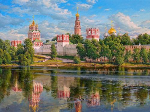 Novodevichy monastery Poster Print by Sergej Basov - Item # VARPDXBC33